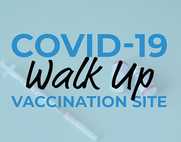 Flyer for COVID-19 Vaccination Site