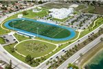 Ariel view of Betty T. Ferguson Rec Center